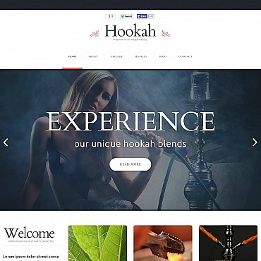 Flash CMS Template # 51259