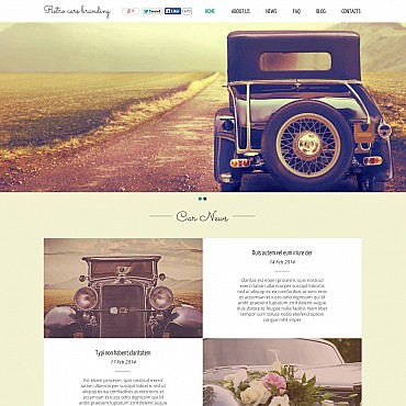 Flash CMS Template # 51261