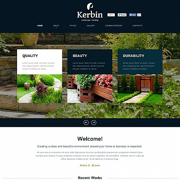 Flash CMS Template # 51264