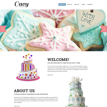 Website Template # 51267