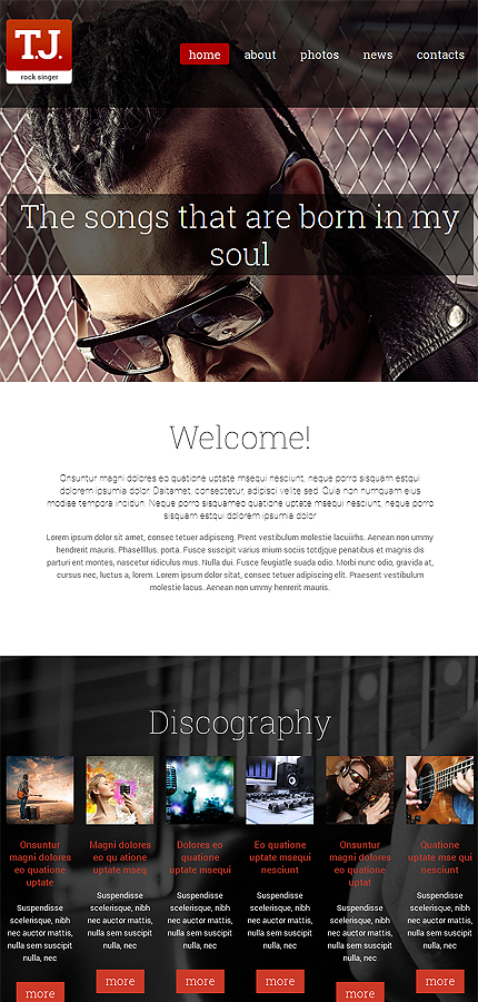 Music Most Popular website inspirations at your coffee break? Browse for more Drupal #templates! // Regular price: $75 // Sources available: .PSD, .PHP #Music #Most Popular #Drupal