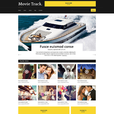 Website Template # 51353