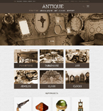Antique Store Magento Template