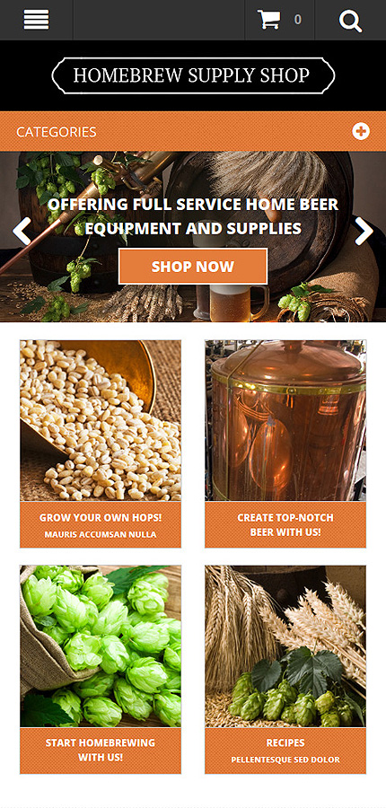 Most Popular Brewery Templates website inspirations at your coffee break? Browse for more Magento #templates! // Regular price: $179 // Sources available: .PSD, .XML, .PHTML, .CSS #Most Popular #Brewery Templates #Magento