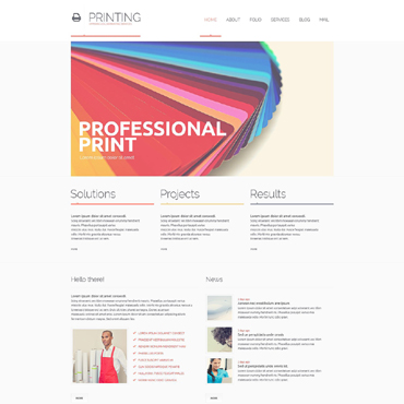 Website Template # 51368