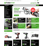 Equipment Store OpenCart Template