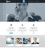Responsive JavaScript Animated Template #51388