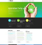 Download Template Monster Website Template 51390