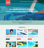 Responsive JavaScript Animated Template #51403