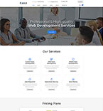 Responsive JavaScript Animated Template #51408