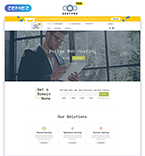 Download Template Monster Website Template 51489