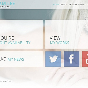 Photo Gallery Template # 51722