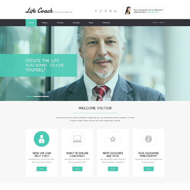 Website Template # 51743