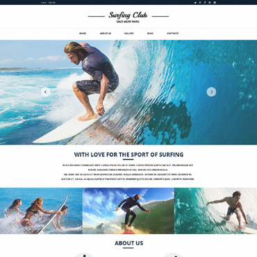 Website Template # 51760