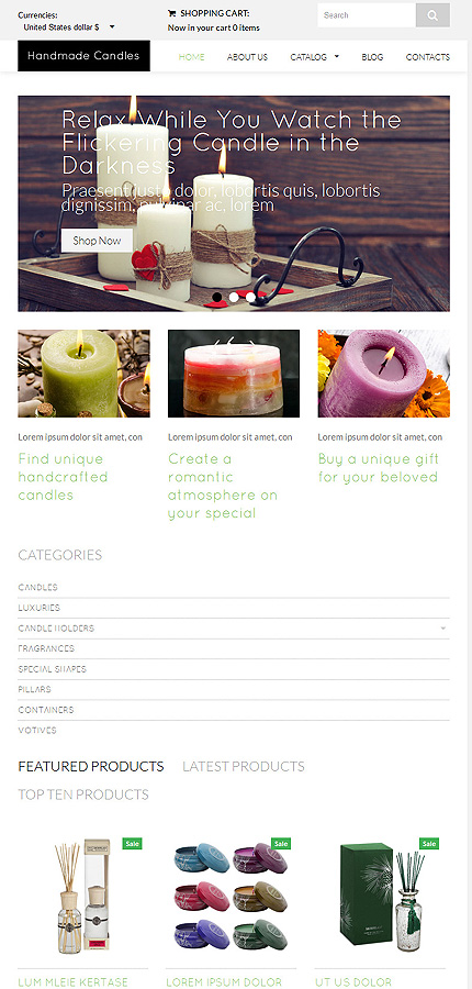 Hobbies & Crafts website inspirations at your coffee break? Browse for more VirtueMart #templates! // Regular price: $139 // Sources available: .HTML,  .PSD, .PHP, .XML, .CSS, .JS #Hobbies & Crafts #VirtueMart