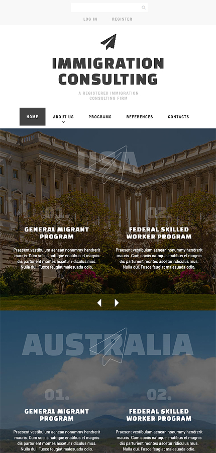 Society & Culture Most Popular website inspirations at your coffee break? Browse for more Bootstrap #templates! // Regular price: $75 // Sources available: .HTML,  .PSD #Society & Culture #Most Popular #Bootstrap