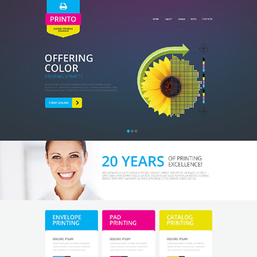 Website Template # 51805