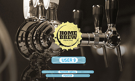 Most Popular Brewery Templates website inspirations at your coffee break? Browse for more VirtueMart #templates! // Regular price: $139 // Sources available: .HTML,  .PSD, .PHP, .XML, .CSS, .JS #Most Popular #Brewery Templates #VirtueMart