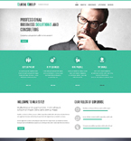 Responsive JavaScript Animated Template #51851