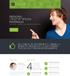 Responsive JavaScript Animated Template #51852
