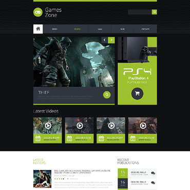 Website Template # 51853
