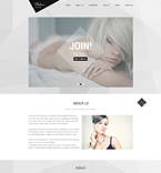 Responsive JavaScript Animated Template #51854