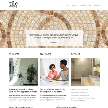 Website Template # 51856
