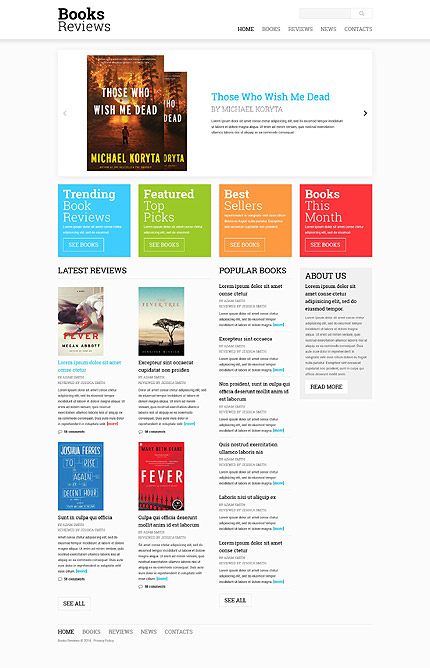 Books Most Popular website inspirations at your coffee break? Browse for more Responsive JavaScript Animated #templates! // Regular price: $69 // Sources available: .HTML,  .PSD #Books #Most Popular #Responsive JavaScript Animated