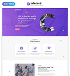 Download Template Monster Website Template 51874