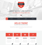 Download Template Monster Website Template 51876