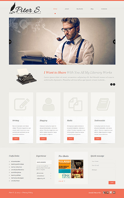 Personal Pages Most Popular website inspirations at your coffee break? Browse for more WordPress #templates! // Regular price: $75 // Sources available: .PSD, .PHP, This theme is widgetized #Personal Pages #Most Popular #WordPress