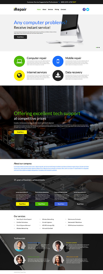 Communications Most Popular website inspirations at your coffee break? Browse for more Joomla #templates! // Regular price: $75 // Sources available: .PSD, .PHP #Communications #Most Popular #Joomla