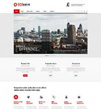 Responsive JavaScript Animated Template #52001