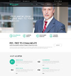 Responsive JavaScript Animated Template #52002