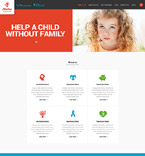 Responsive JavaScript Animated Template #52004