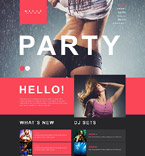 Download Template Monster Muse Template 52010