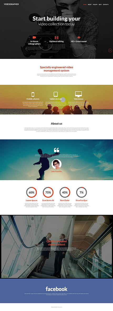 Media Most Popular website inspirations at your coffee break? Browse for more Joomla #templates! // Regular price: $75 // Sources available: .PSD, .PHP #Media #Most Popular #Joomla
