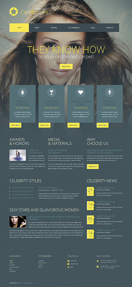 Media Most Popular website inspirations at your coffee break? Browse for more WordPress #templates! // Regular price: $75 // Sources available: .PSD, .PHP, This theme is widgetized #Media #Most Popular #WordPress
