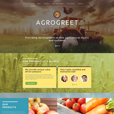 Website Template # 52074