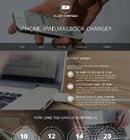 Responsive JavaScript Animated Template #52139