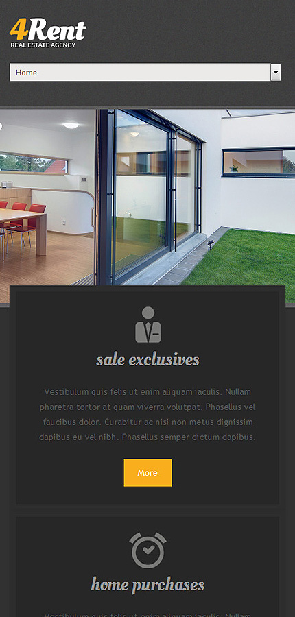 Real Estate Most Popular website inspirations at your coffee break? Browse for more Drupal #templates! // Regular price: $75 // Sources available: .PSD, .PHP #Real Estate #Most Popular #Drupal