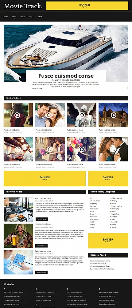 Media website inspirations at your coffee break? Browse for more Moto CMS HTML #templates! // Regular price: $139 // Sources available:<b>Sources Not Included</b> #Media #Moto CMS HTML