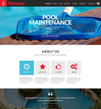 Responsive JavaScript Animated Template #52233
