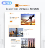 Construction Company WordPress Template