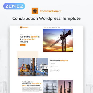 WordPress Theme # 52266