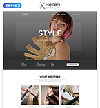 Responsive JavaScript Animated Template #52290