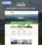 Environmental Organization WordPress Template