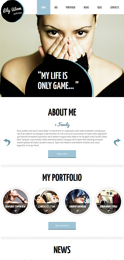 Personal Pages Most Popular website inspirations at your coffee break? Browse for more Joomla #templates! // Regular price: $75 // Sources available: .PSD, .PHP #Personal Pages #Most Popular #Joomla