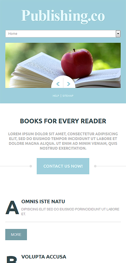 Books Most Popular website inspirations at your coffee break? Browse for more Joomla #templates! // Regular price: $75 // Sources available: .PSD, .PHP #Books #Most Popular #Joomla