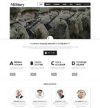 Military Joomla Template